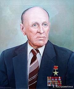 Портрет Коровин М.П.