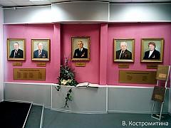 Портреты в музее ОАО Ураласбест
