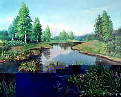 Картина На реке Пышма