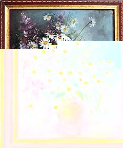 Картина Кувшин с ромашками