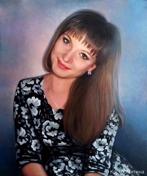 Портрет Екатерина