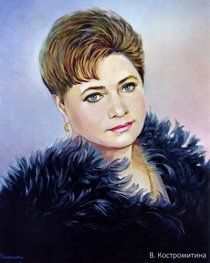 Портрет Т.Ю. Усатова