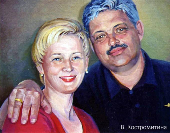 Портрет Ю.М. Фридман
