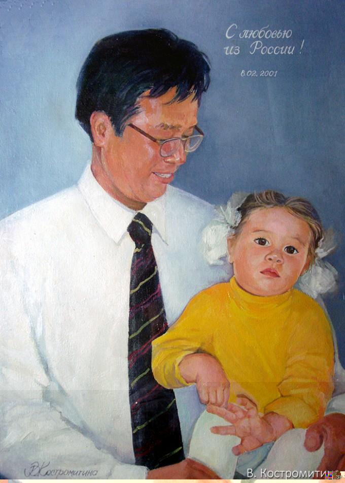 Портрет Чанг Чо Су и Чанг Дарэ (Корея)