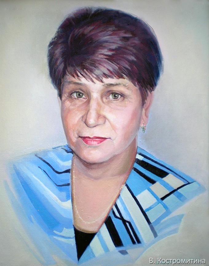 Портрет Ионова Л.Ф.