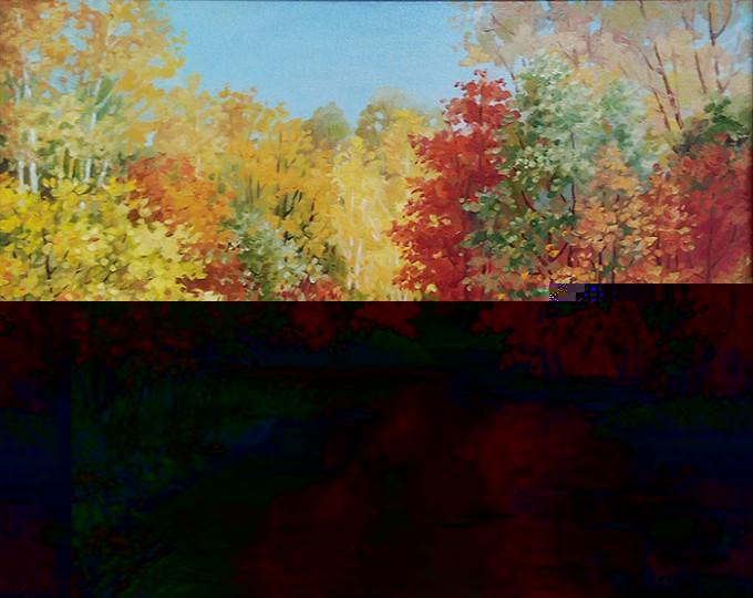 Картина Краски осени